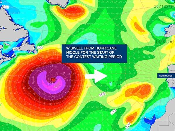Die Wellen nehmen Anlauf in der Karibik, um dann in Europa die schönsten Röhren zu formen, die sich ein Surfer vorstellen kann.