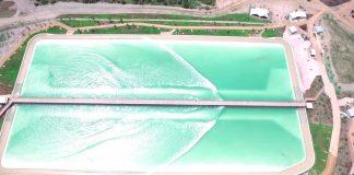 Der NLand Surf Park von oben