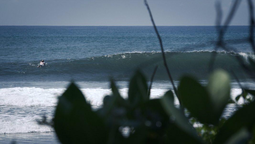 Leere Wellen sind auf Bali in der Nebensaison kein Problem.