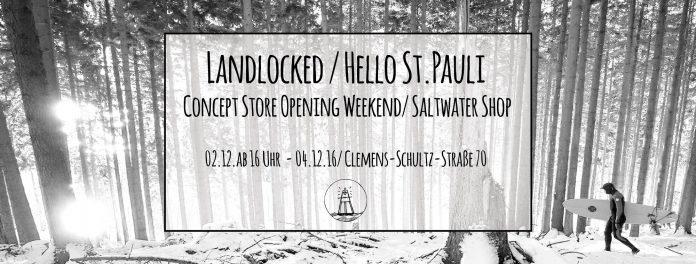 Der Saltwater Shop eröffnet einen Concept-Store mitten in Hamburg.