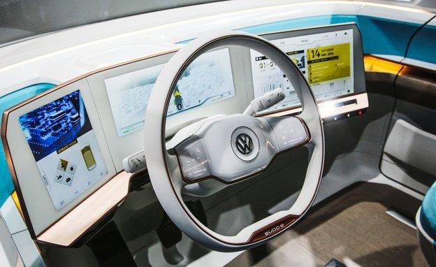 Das Cockpit der E-Version soll so aussehen und dürfte etwas empfindlich auf Sand oder Salzwasser reagieren.
