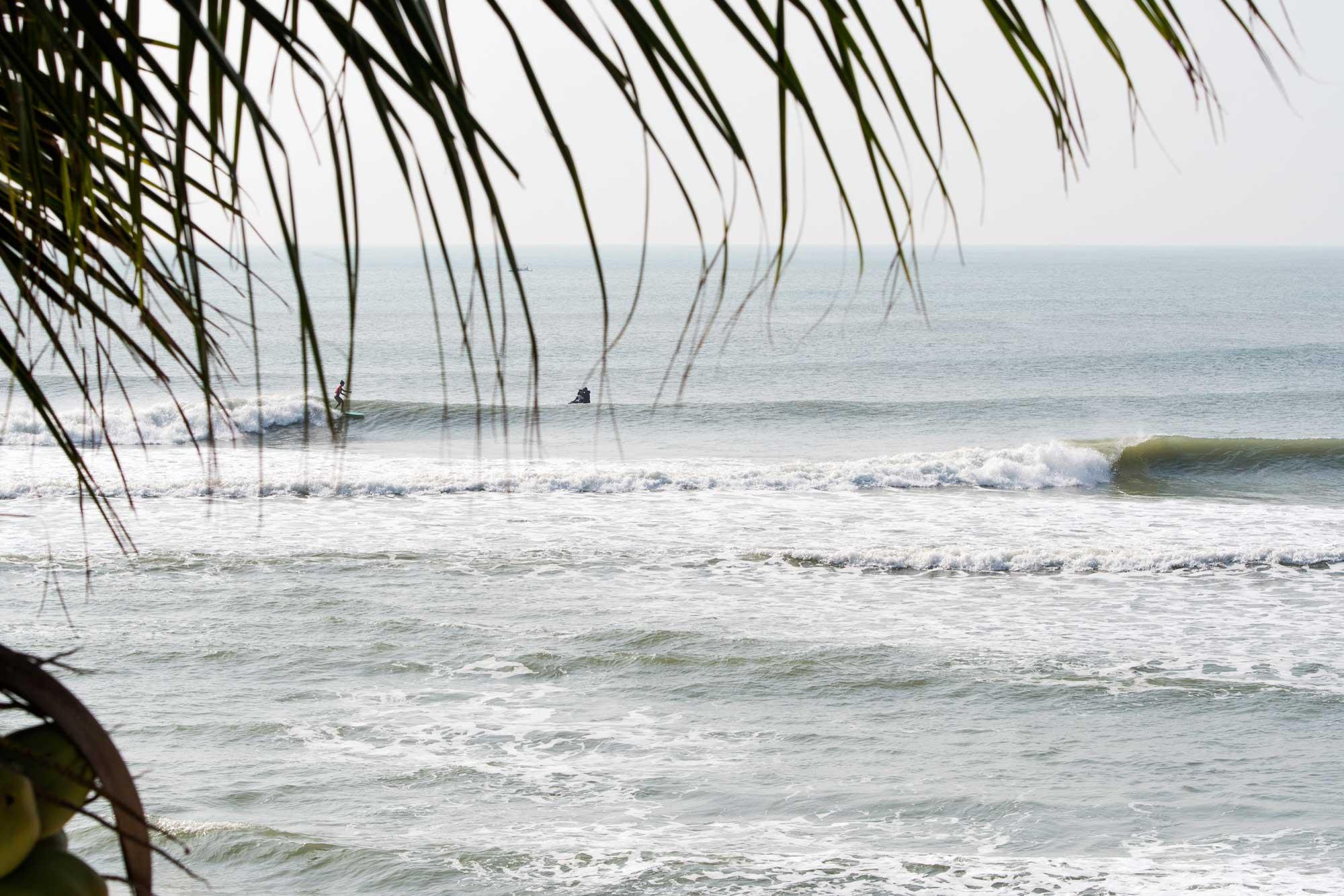 Ein langer Point mit tropisch warmen Wasser - was will man mehr?