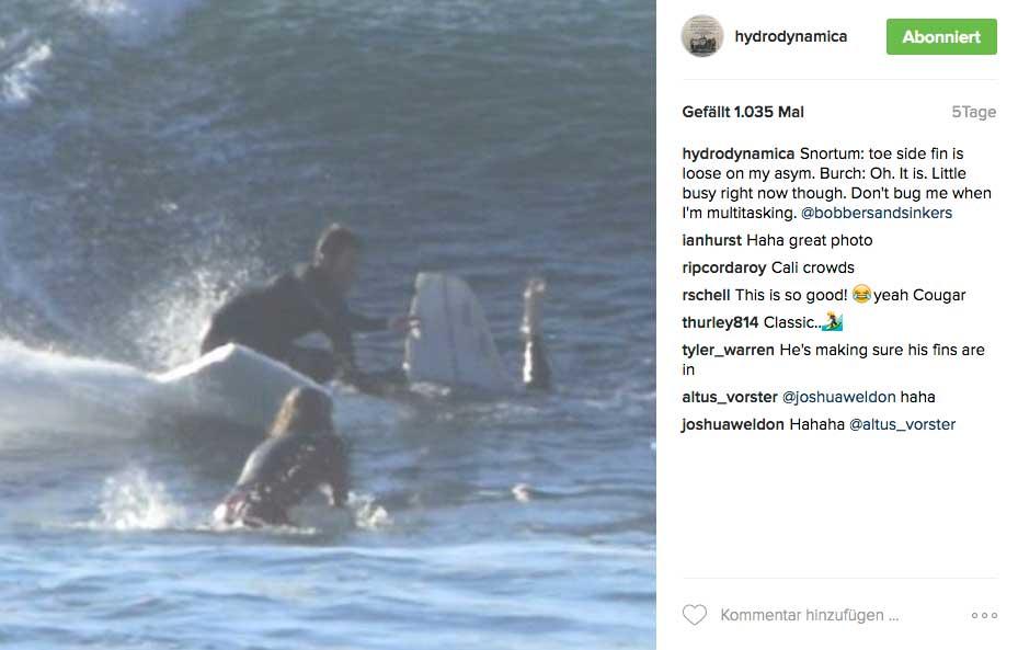 Trotzdem scheint das Foamblank-Board auch in knifligen Situationen zu kontrollieren sein - zumindest mit dem richtigen Surfer auf dem Board.