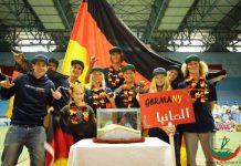 Team Germany bei der Eurosurf Junior 2016.