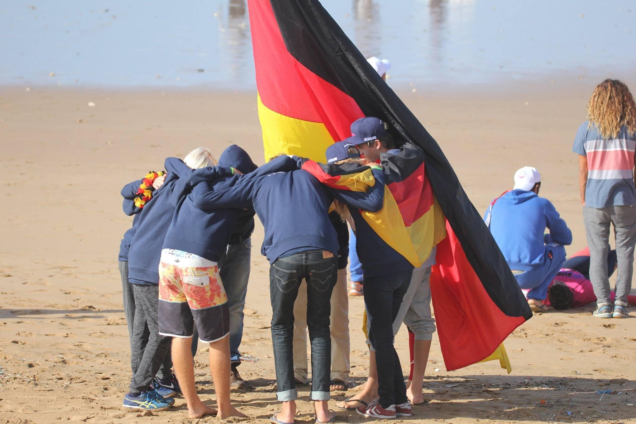 Teamgeist steht bei Team Germany ganz oben.