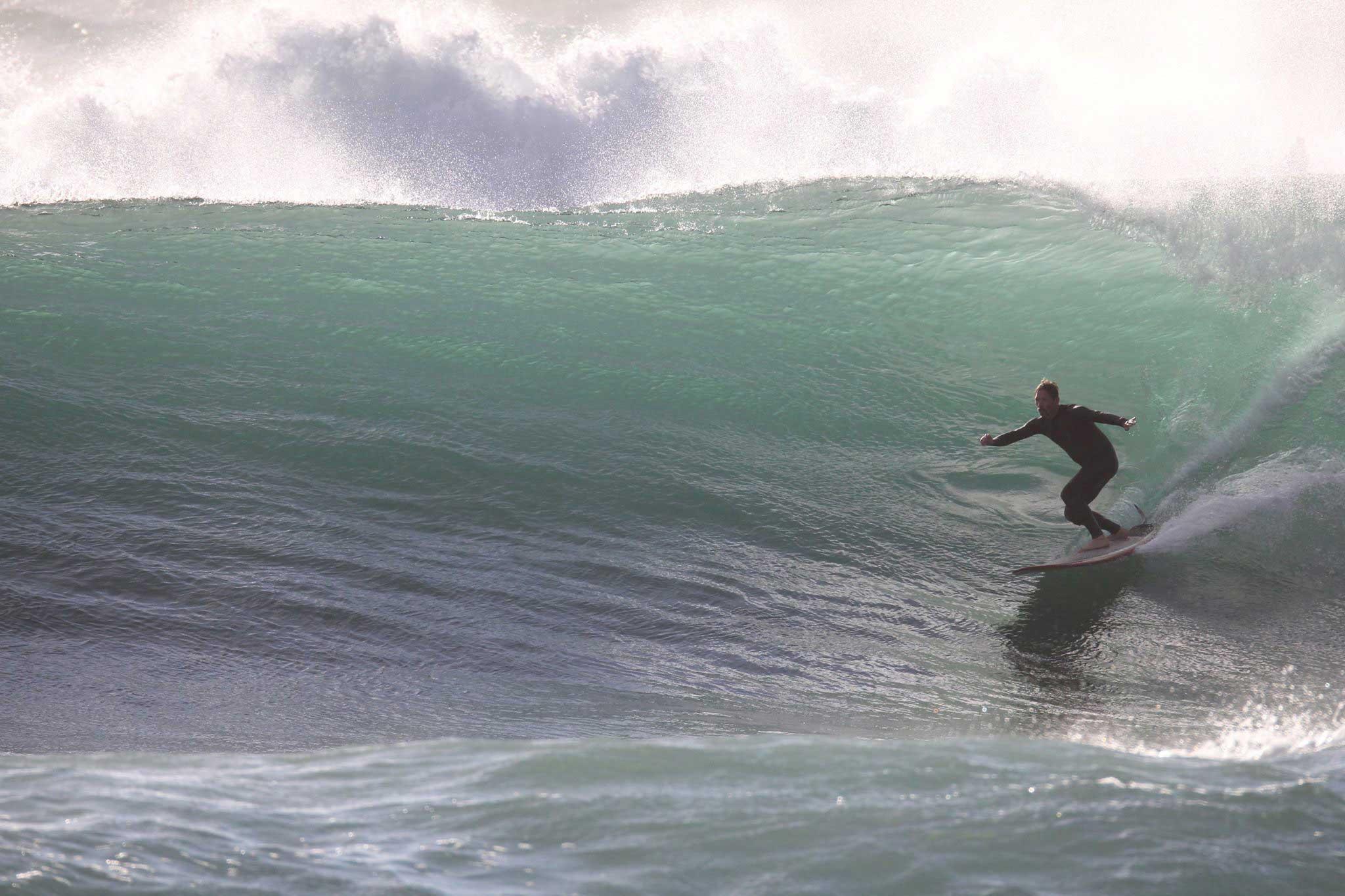Eine Welle, die laut Uli Adrenalin garantiert.