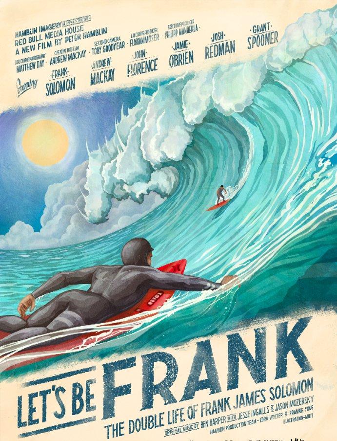 """Das offizielle Filmposter von """"Let's Be Frank""""."""