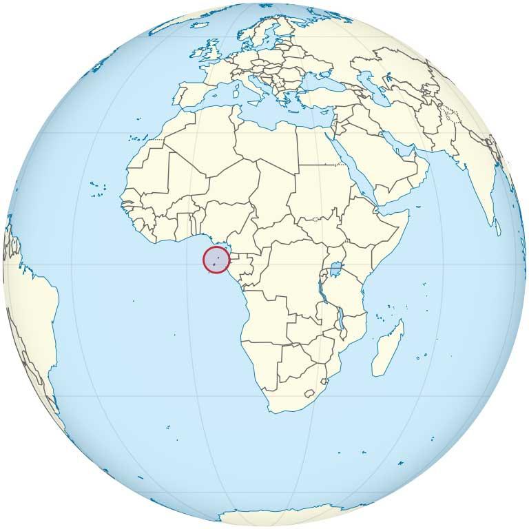 Sāo Tomé und die Nachbarinsel Principe bilden zusammen ihren eigenen Staat.