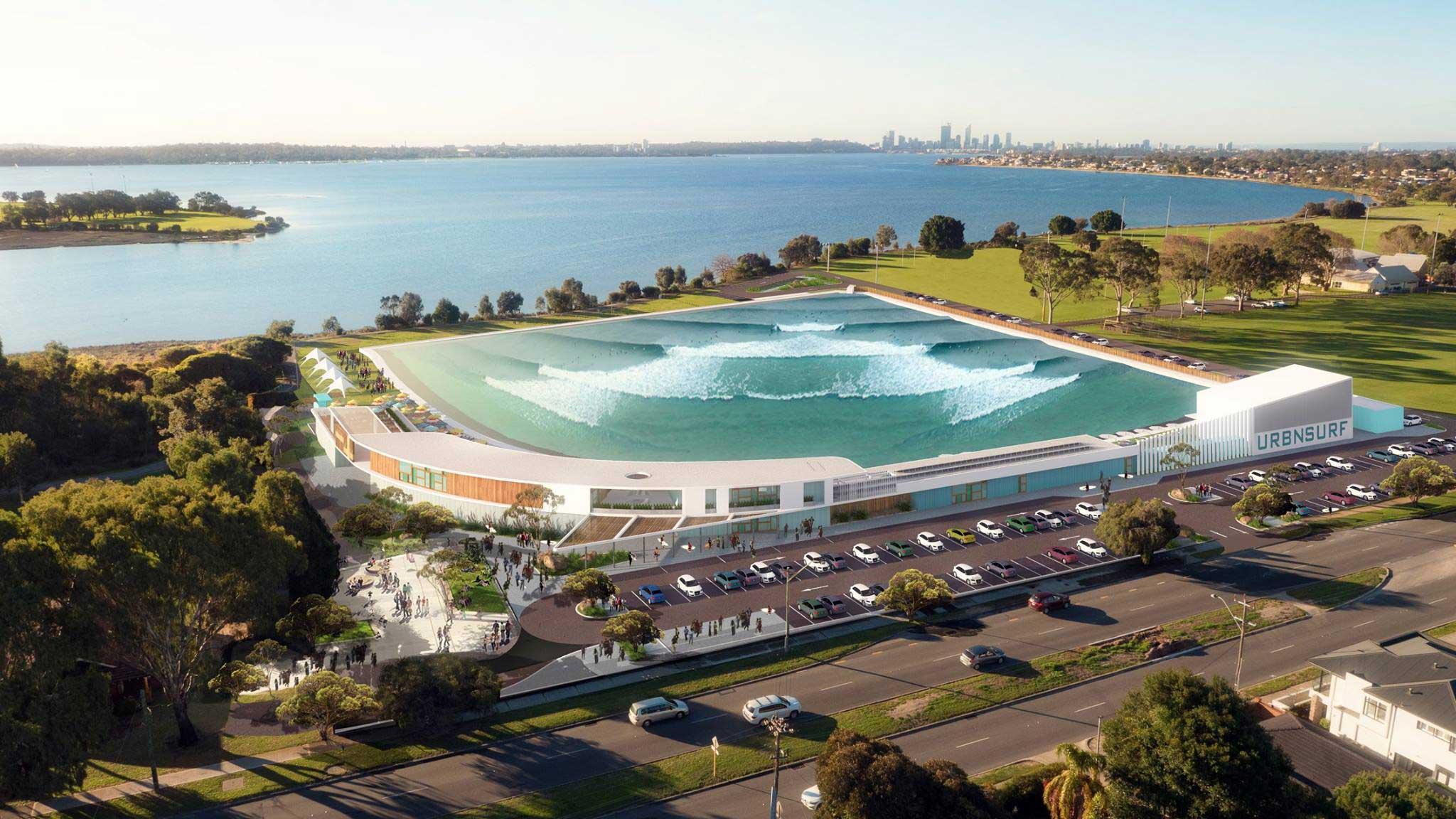 Gleich drei Wavepools idn in Australien geplant: in Sydney, Melbourne und Perth. Es gibt wohl auch schon eine fertige Testversion von The Cove irgendwo in Spanien. Angeblich waren die australischen Pros Julian Wilson und Josh Kerr auch schon dort.