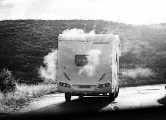 Mit dem Camper-Van durch die schottische Kälte