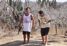 Cheesburger und das Lost Team in Baja