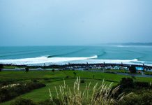 Raglan Lefts Manu Bay