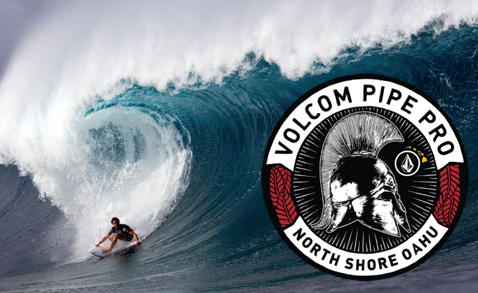 Volcom Pipe Pro Event Banner