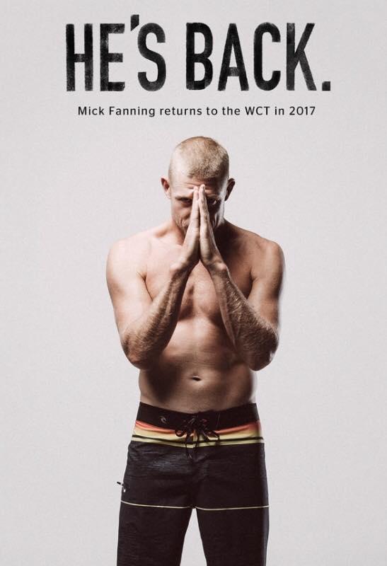 Mick Fanning ist zurück!