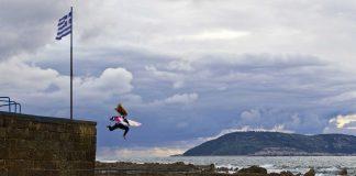 Wellensuche in Griechenland