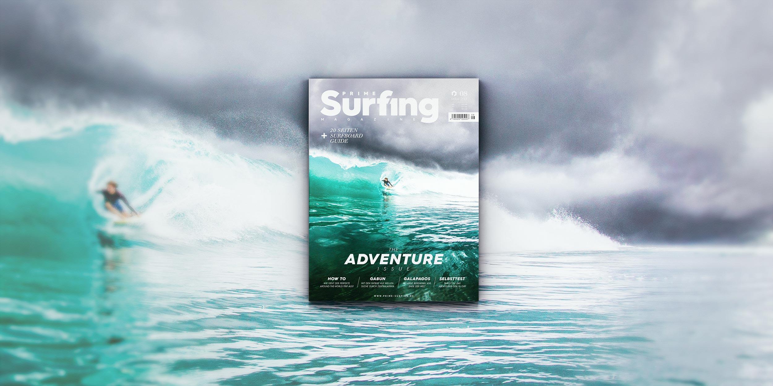 Prime Surfing Nummer 8: Die Adventure Issue