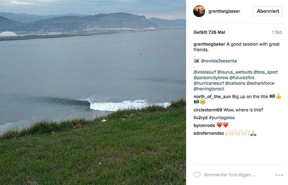 Und dieser Big-Wave-Spot im spanischen Baskenland zeigte sich so clean, wie selten.