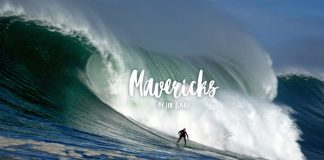 Baskische Surfer chargen Mavericks