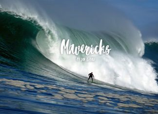 Baskische Surfer chargen Mavericks