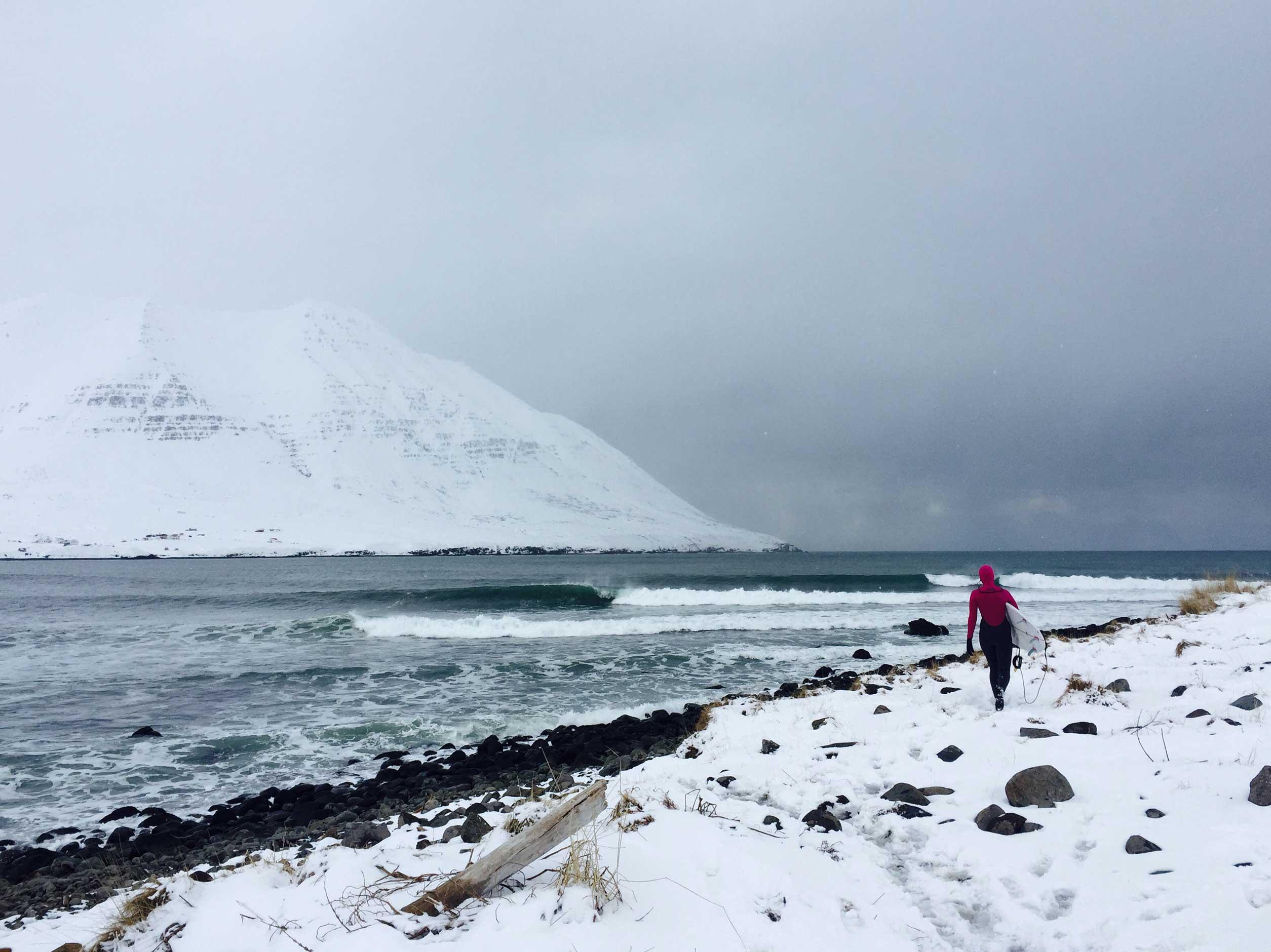 In Bezug auf Surfen lagen die Temperaturen dagegen eher am unteren Ende der Wohlfühlskala.