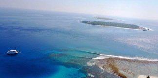 Mikado im Vordergund geht es gut. Dem Spot Finnimas vor der nächsten Insel eher nicht.