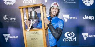 Jordy Smith gewinnt Rip Curl Pro Bells Beach 2017