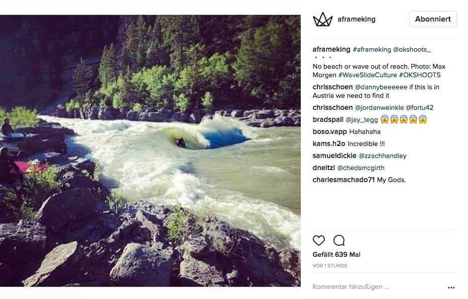 Wer hat bitte behauptet, dass man auf einem Fluss nicht getubed werden kann?