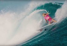 Bethany Hamilton in Fidschi