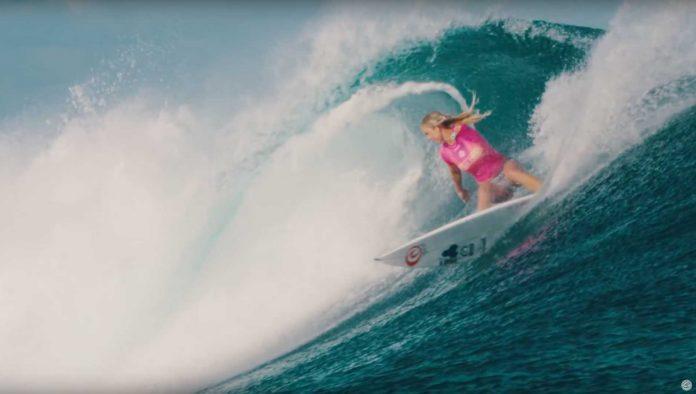 Bethany Hamilton in Fidschi