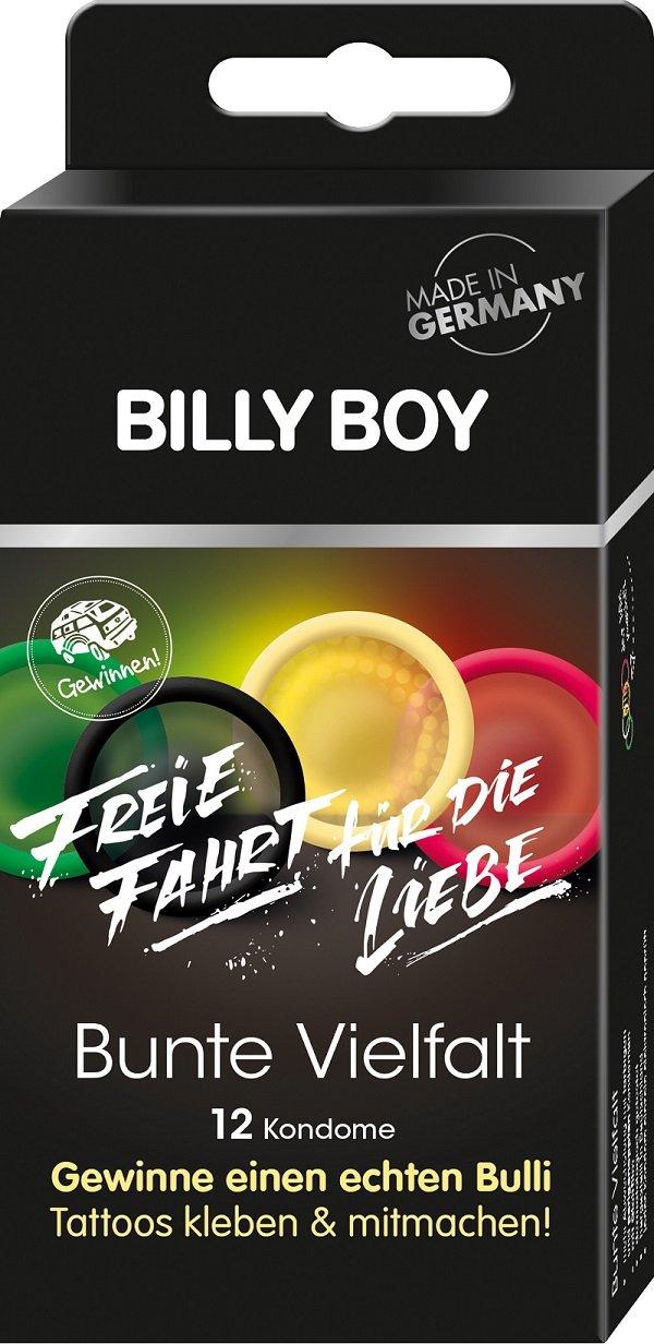 So sehen die Billy- Boy-Aktionspackungen aus.