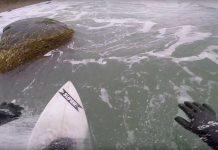 Ben Gravy auf der Jagd nach bizarren Wellen