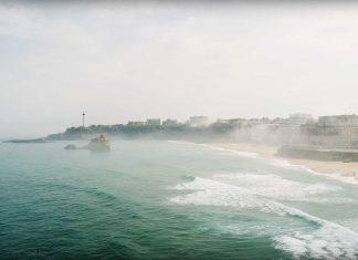 Das Finale der der ISA World Surfing Games oder die Weltmeisterschaft in Biarritz