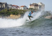 Frankie Harrer surfte sich bei den ISA World Surfing Games bis ins Halbfinale!