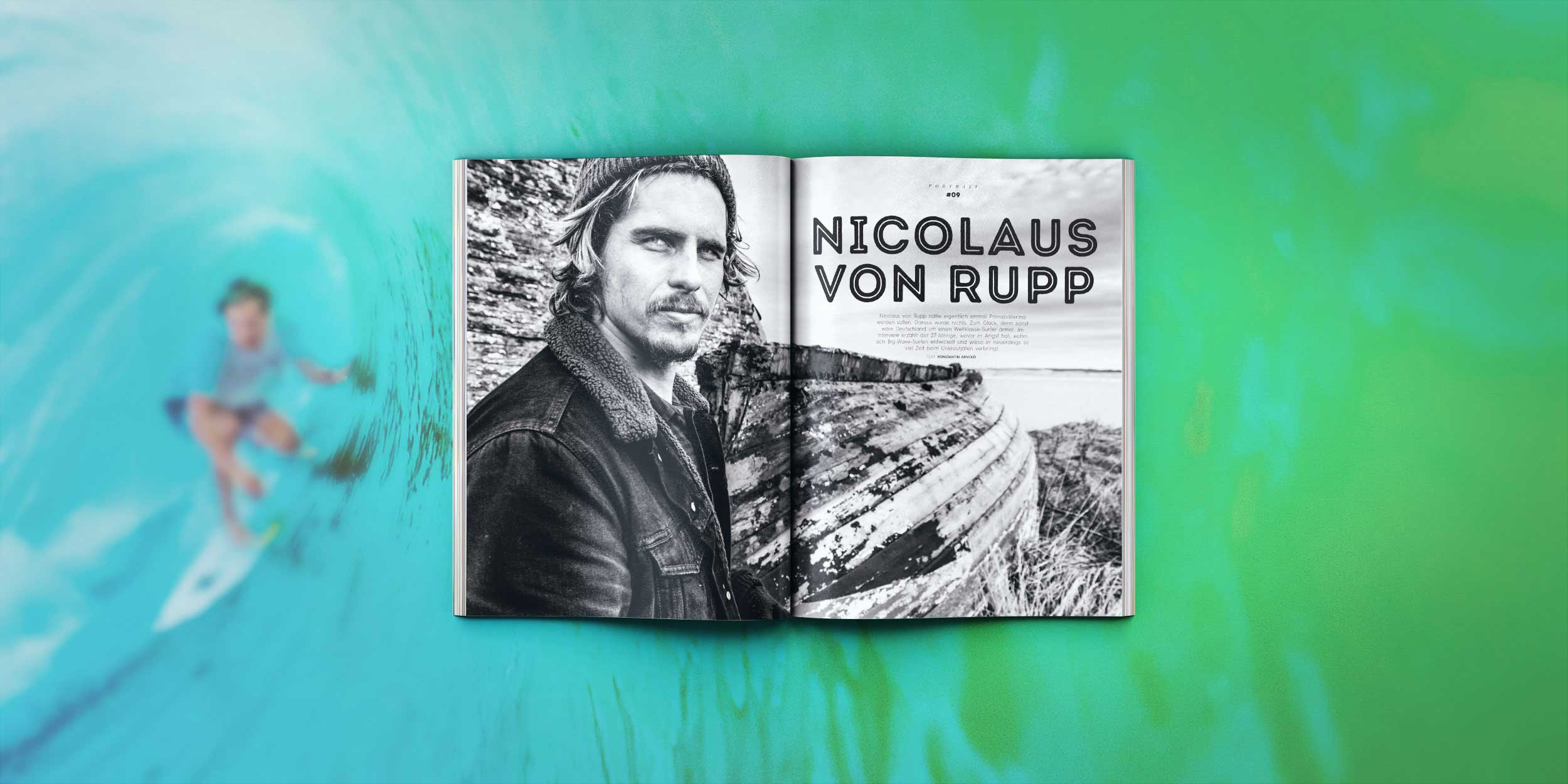 Nic von Rupp im Portrait in Prime Surfing Nr. 9