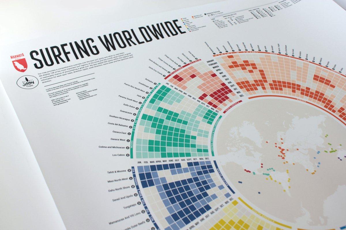 Du hast nur in einem bestimmten Monat Zeit und willst wissen, wo die besten Wellen brechen? Ein Blick auf die Surfing Worldwide Map genügt!