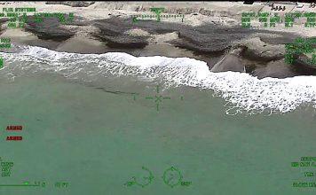 Per Helikopter auf der Jagd nach Weißen Haien