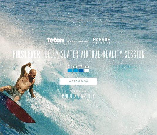 Die Welt aus Sicht von Kelly Slater erleben - Virtual Reality macht es möglich