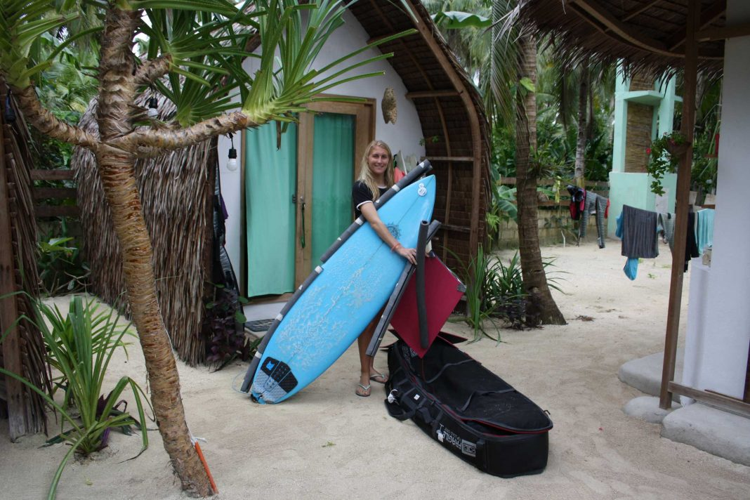Boardbag packen leicht gemacht