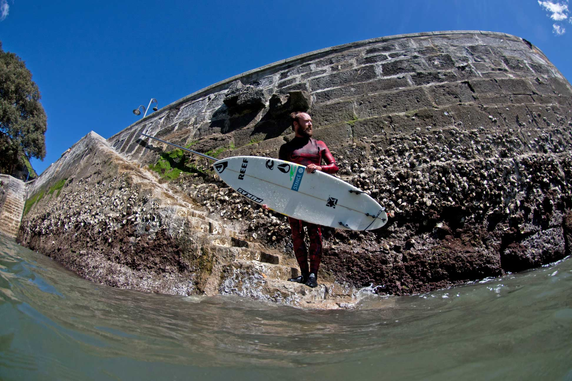 Heute sagt Kepa, dass er wieder zu 100-Prozent surffit ist.