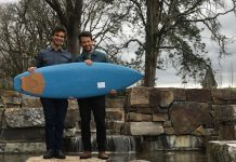 Recycelbares Surfboard, Photo: DAVAR ARDALAN