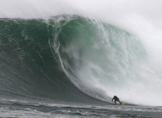 Rebel Sessions Big Wave Surfing event in Cape Town, South Africa