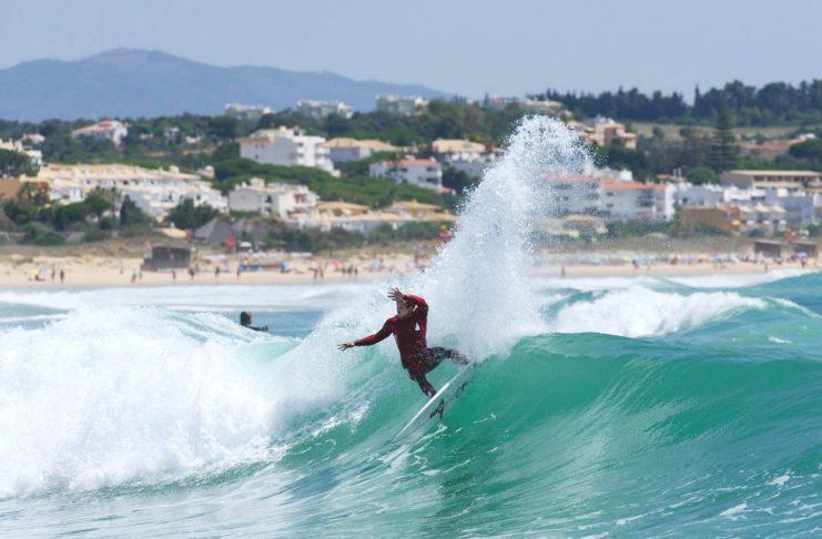 Marlon Lipke an einem dieser magischen Tage irgendwo an der Algarve.