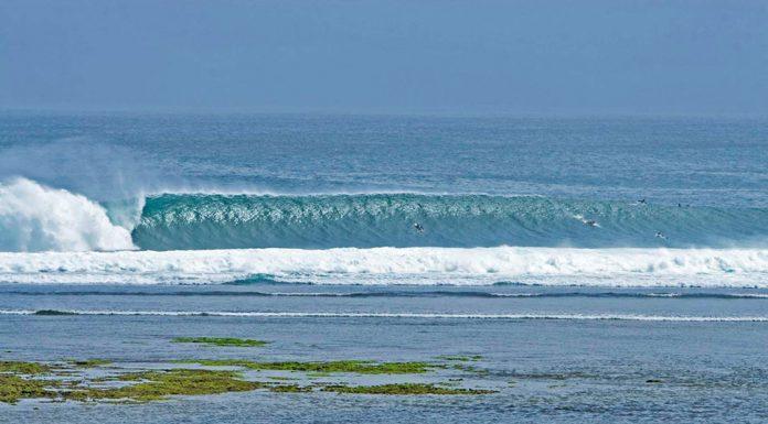 G-Land, Low tide // Photocredit: banyuwangisun.blogspot.co.id