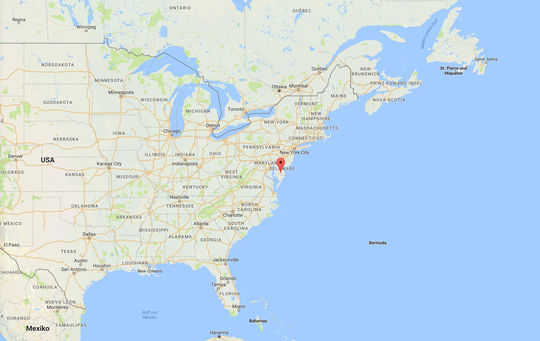 Delaware ist da wo die Barrels brechen - zumindest manchmal.