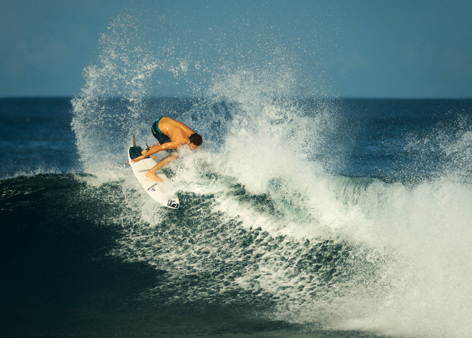 Marc Piwko auf den Malediven