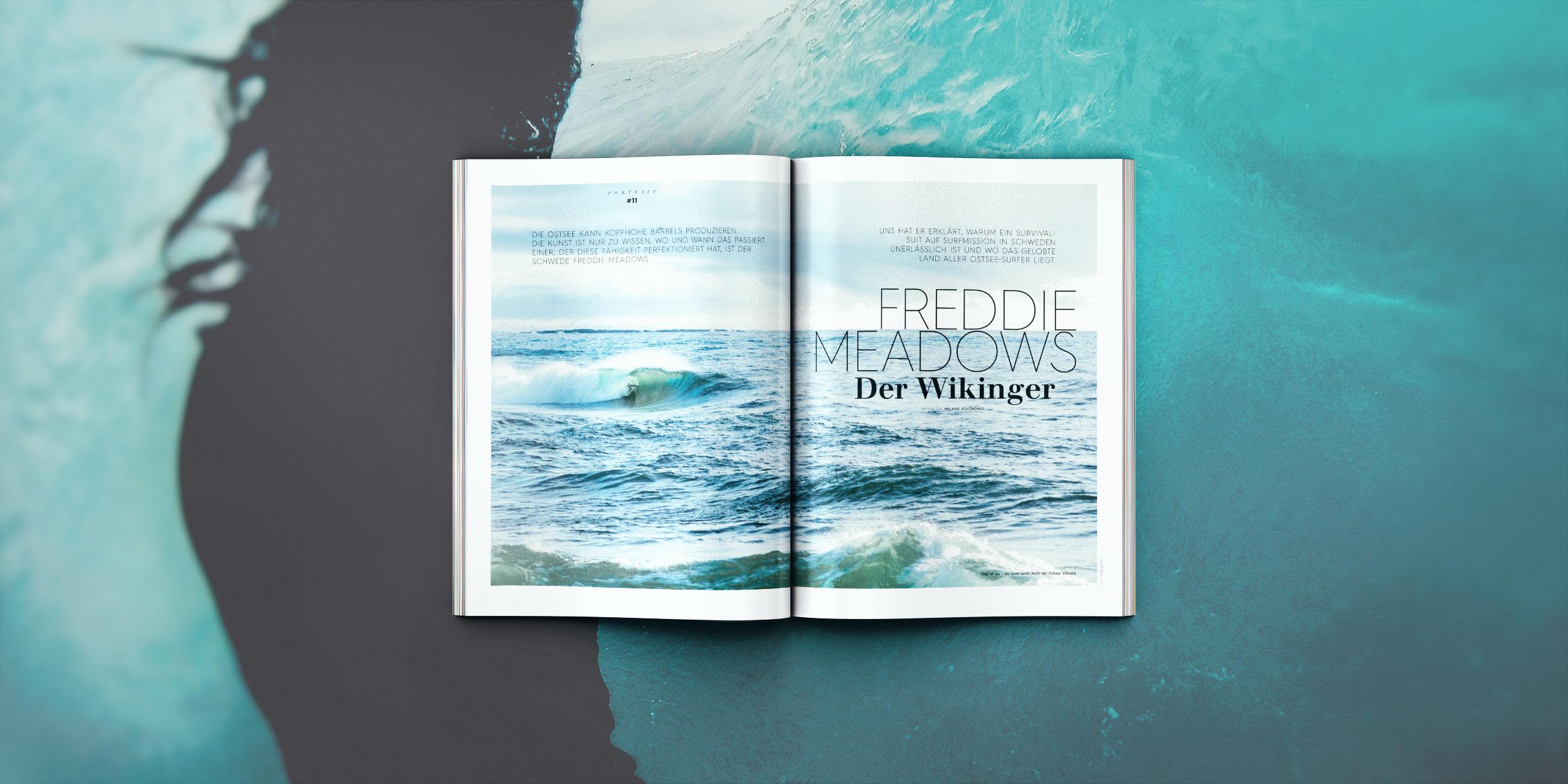 Wellen wie in Indo in der Ostsee