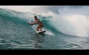 Sally und der Swell des Jahres auf den Malediven