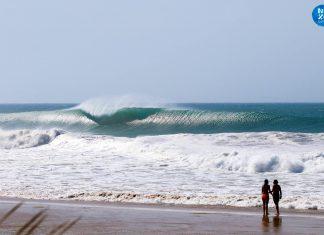 Andalusien hat nur kleine Wellen? Ja, genau! Foto: Nexo Surfhouse