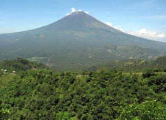 Vulkan Agung auf Bali