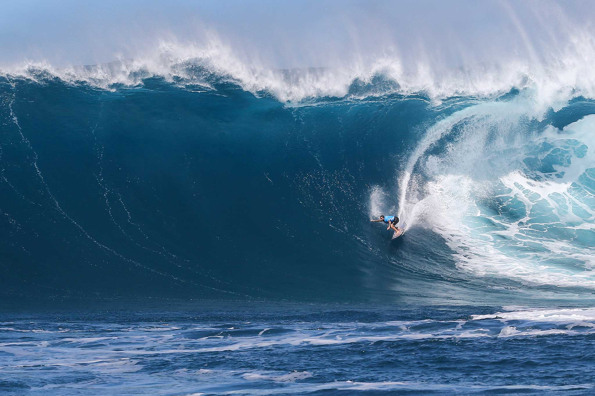Billy Kemper beim Versuchen des Unmöglichen! Credit: WSL / Hallman